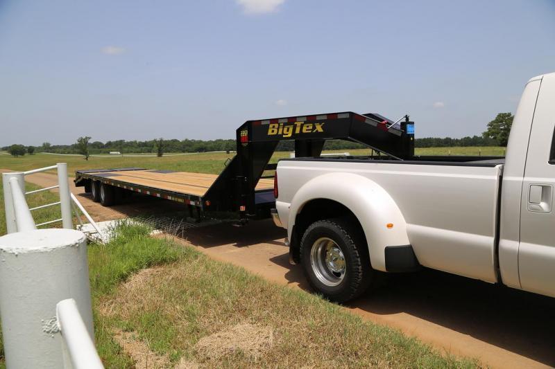 Big Tex 22GN 20'+5' Gooseneck Tandem Dual Equipment Hauler Trailer 25' Gooseneck Trailer