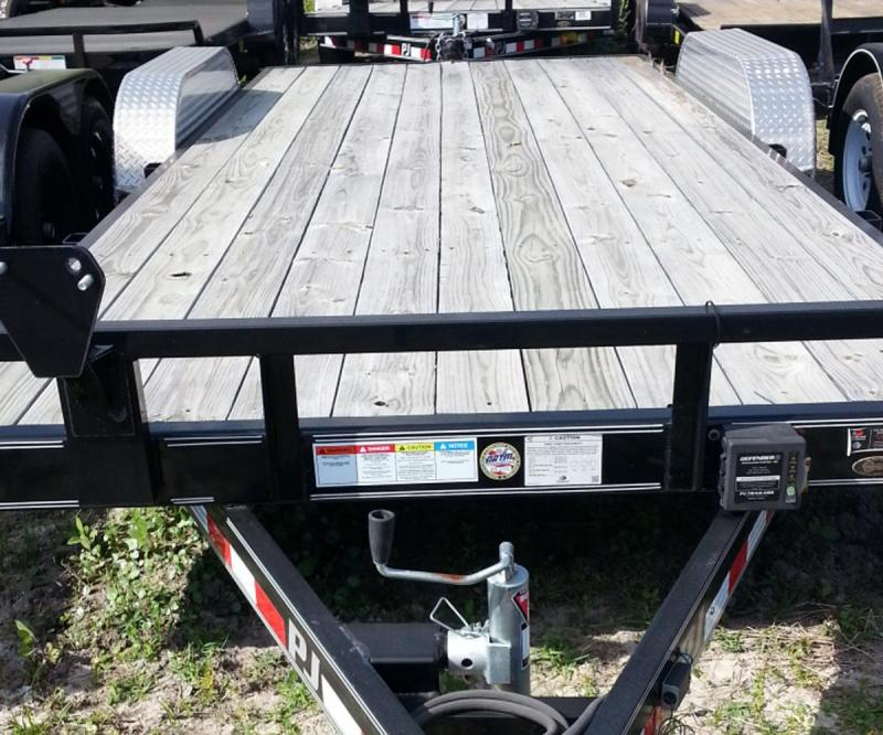"PJ Trailer 83"" x 20'   5"" Channel Carhauler"