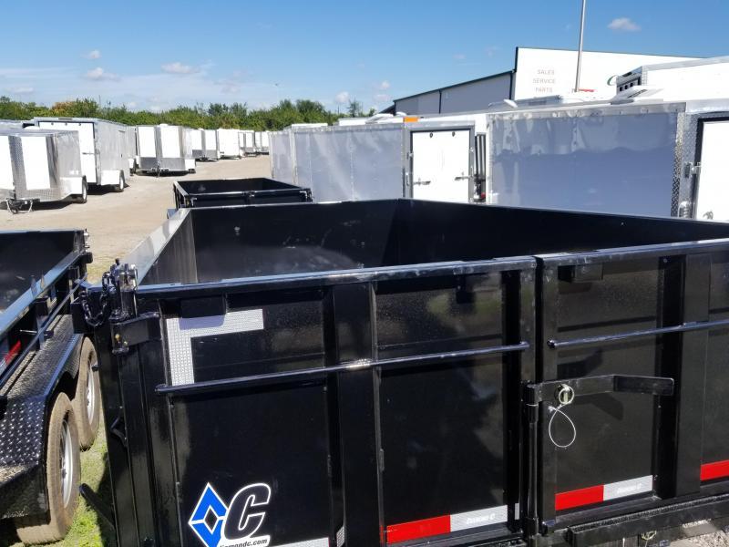 2019 Diamond C Trailers 24LPD Dump Trailer