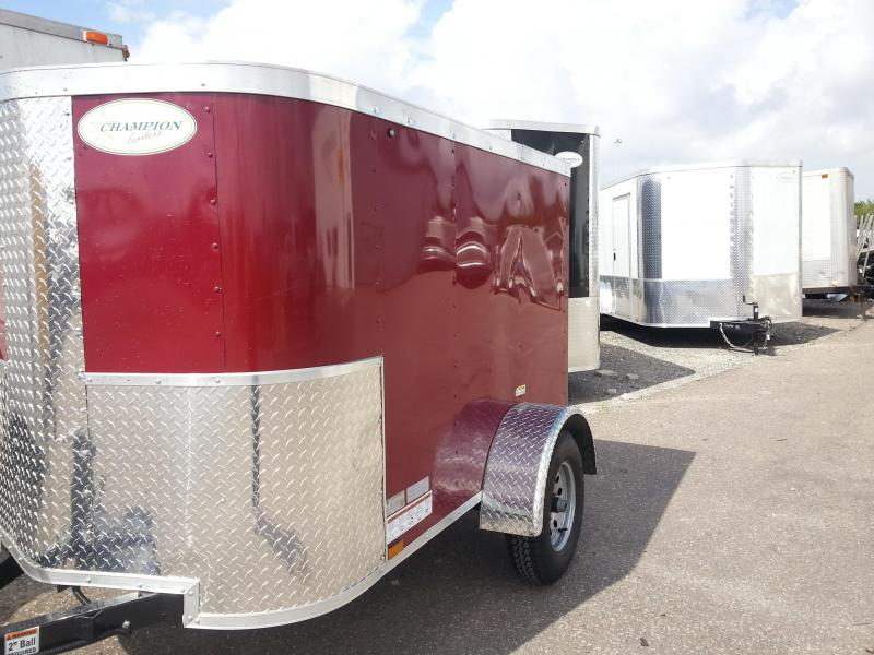 Arising 4x6 Enclosed Cargo Trailer