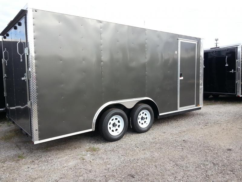 8.5x16x6'6 Arising Enclosed Trailer