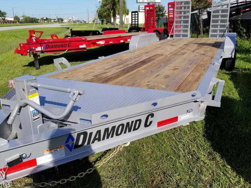 2019 Diamond C Trailers LPX207 Equipment Trailer