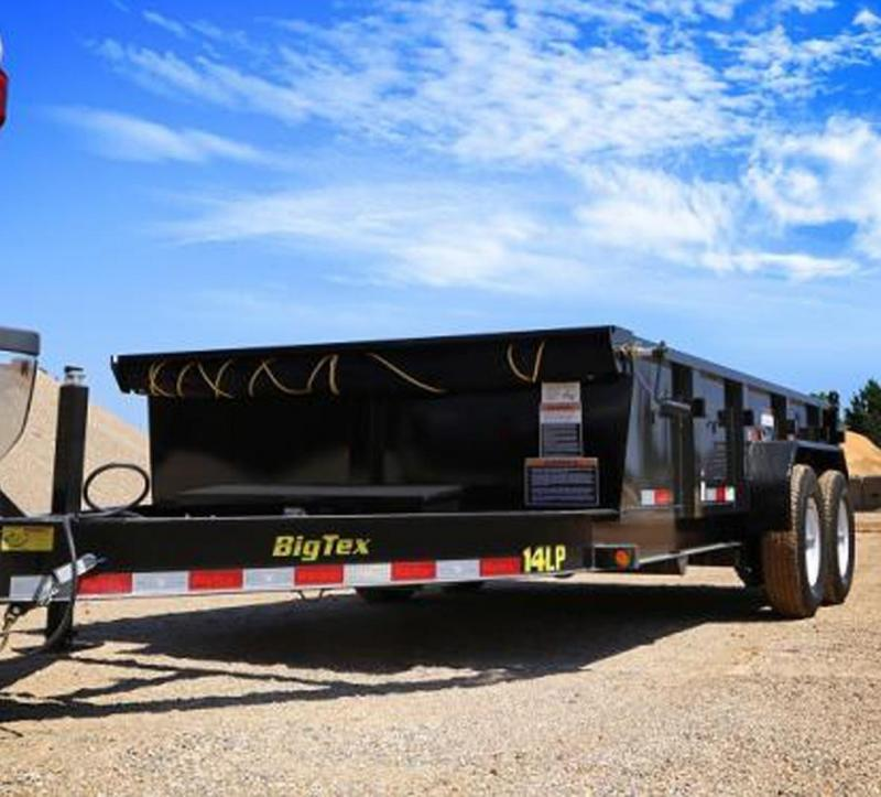 2020 Big Tex Trailers 14LP-14 Low Profile Dump Trailer with