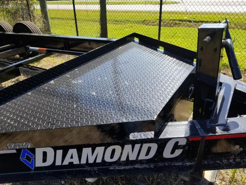Diamond C 24LPD 14' Dump Trailer