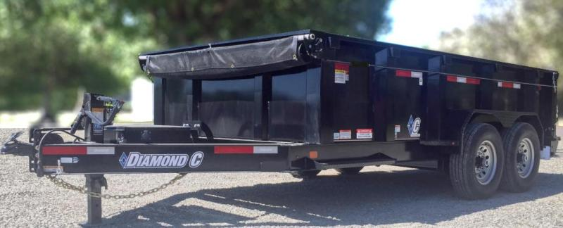Diamond C LPD 14' Dump Trailer