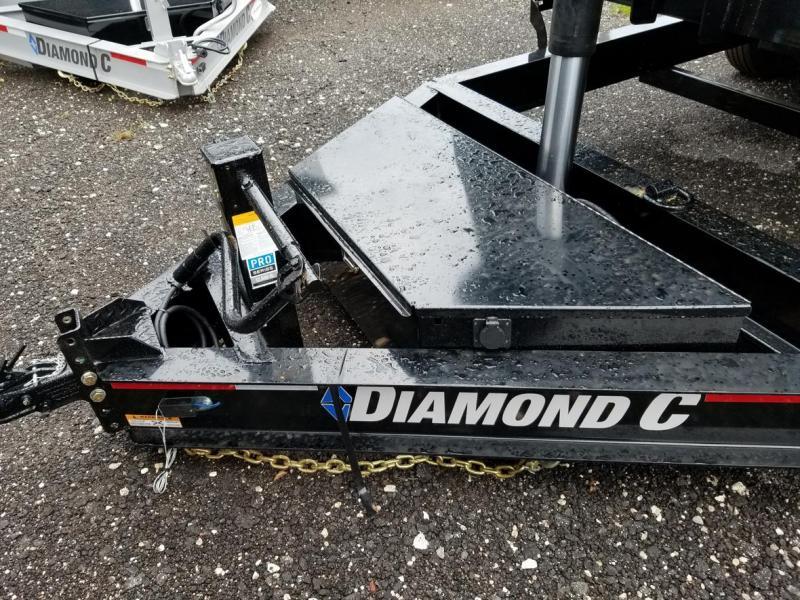 Diamond C 24LPT TELESCOPIC Low Profile Dump 4' sides