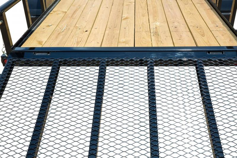 "Big Tex 77"" x 12' Landscape Utility Trailer with 24"" Mesh sides"