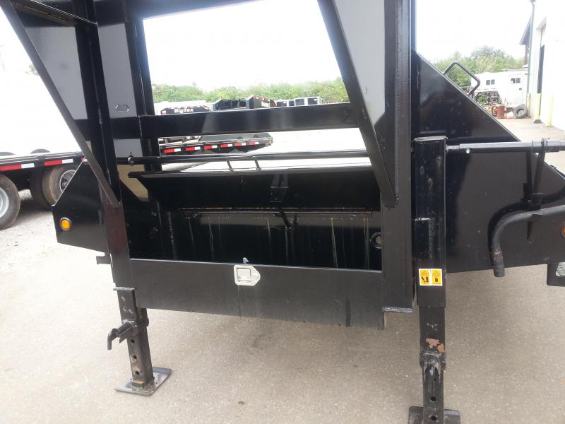 Big Tex Gooseneck Tandem Dual Equipment Hauler Trailer 35' Gooseneck Trailer
