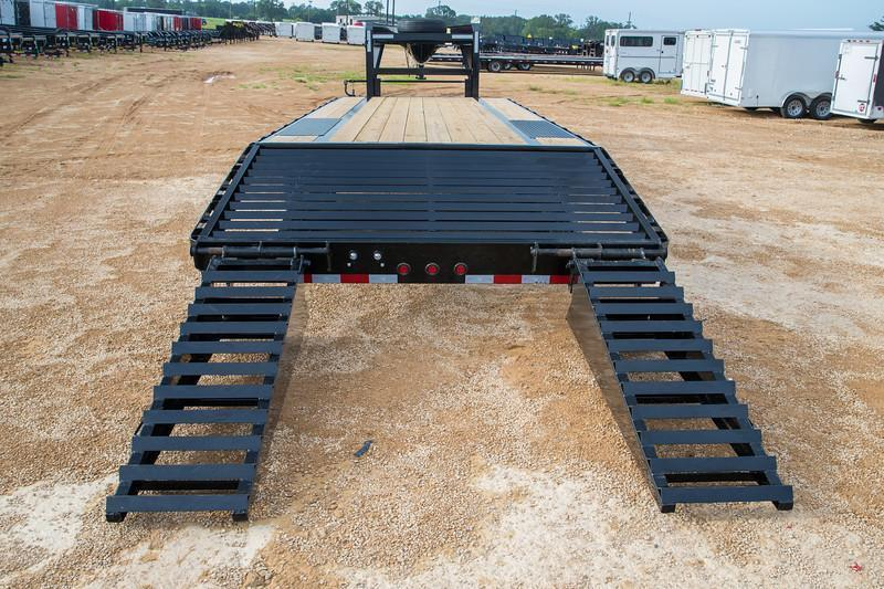 Big Tex 22GN 20'+5' Gooseneck Tandem Dual Equipment Hauler Trailer 25' Gooseneck Trailer