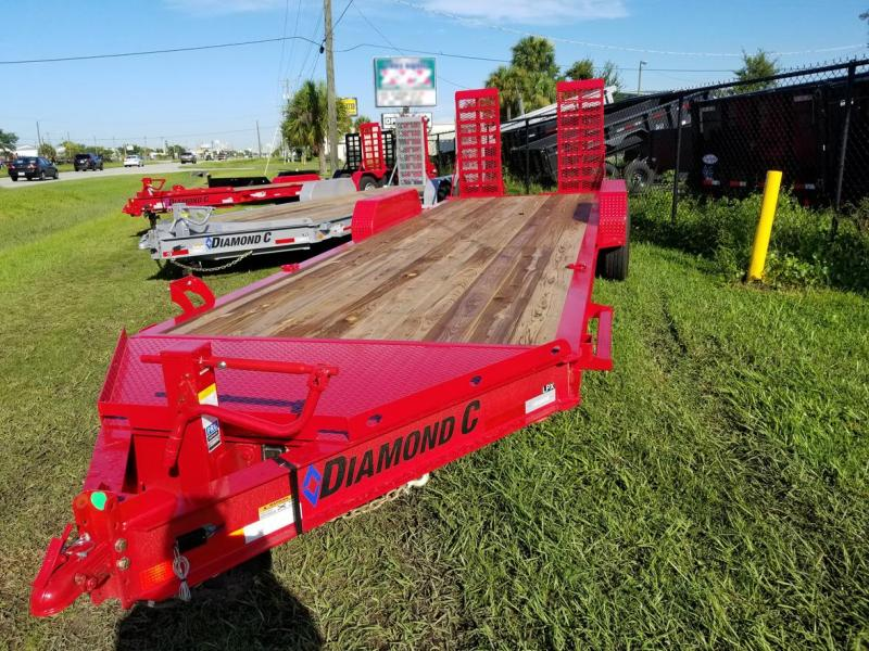 2019 Diamond C Trailers LPX207 Equipment Trailer
