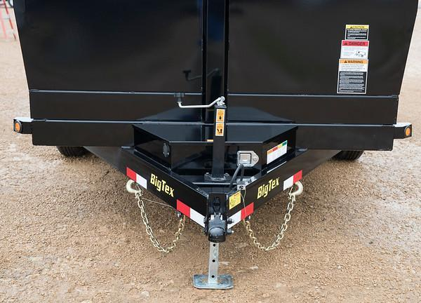 Big Tex 14LX-16' Dump Trailer with Ramps Low Profile
