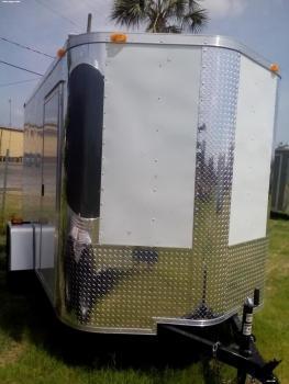 6x10x6 Arising Industries Enclosed