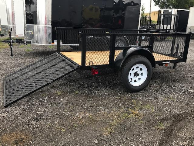 TC 5 x 8 Utility Trailer 4' Ramp