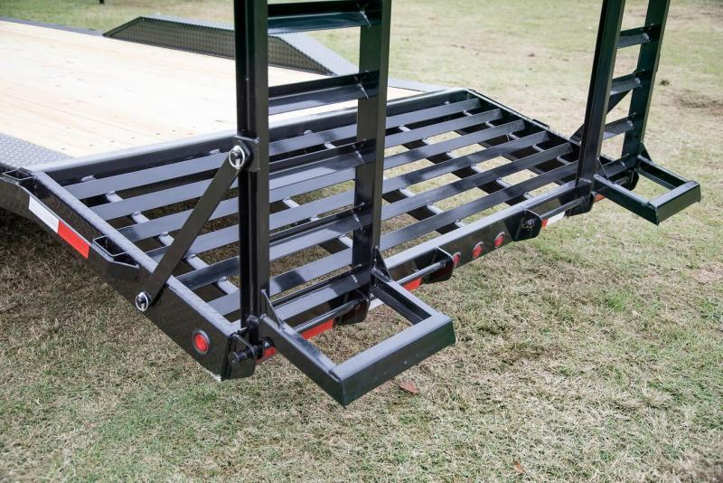 Big Tex Trailers 14DF Big Tex Drive over Fender Equipment trailer
