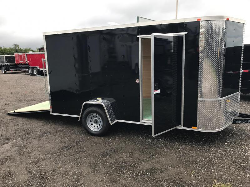 7 x 12 x 6 Arising Enclosed Cargo Trailer Motorcycle
