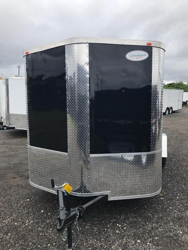 7 x 12 x 6'3 Arising Enclosed Trailer