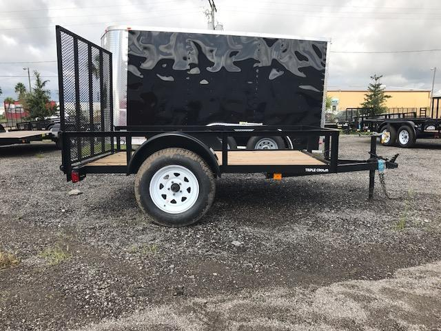 5 x 8 Open Utility Trailer Crown Only One Available