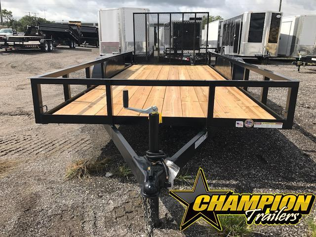 2019 Triple Crown Trailers 64 x 16 Utility Trailer