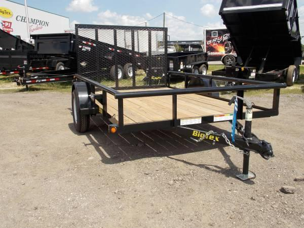 30SA Big Tex Utility Trailer