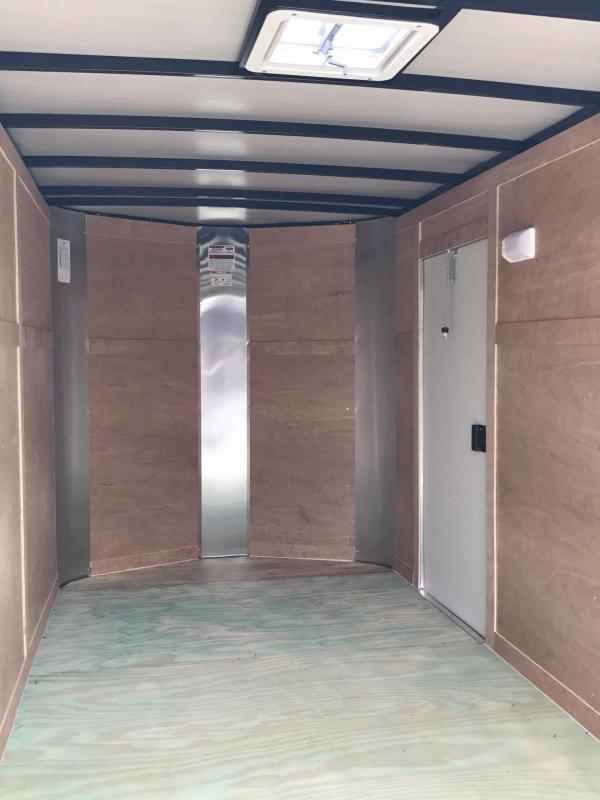 6x12x6 Arising Enclosed Trailer