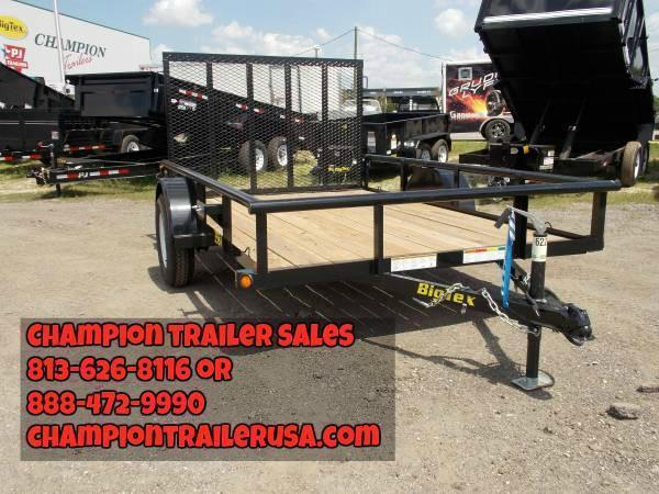 30SA Big Tex Utility Trailer Call Dealer for Pricing on New Stock