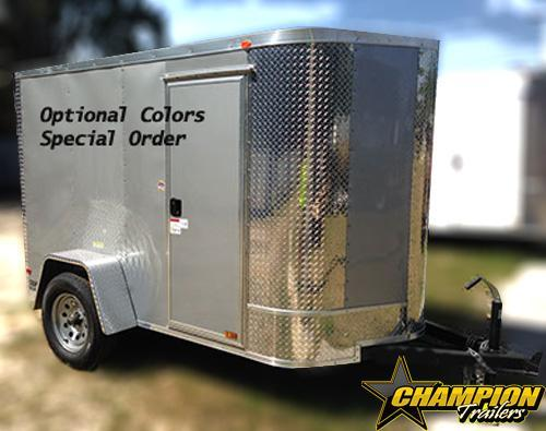 5x8 Arising Enclosed Trailer