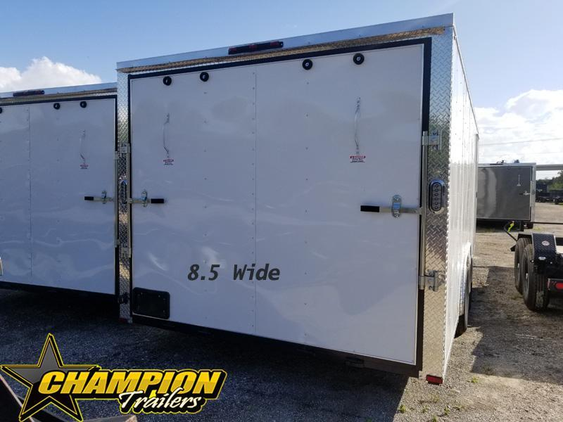 8.5x24x66 Enclosed Cargo Trailer One Available