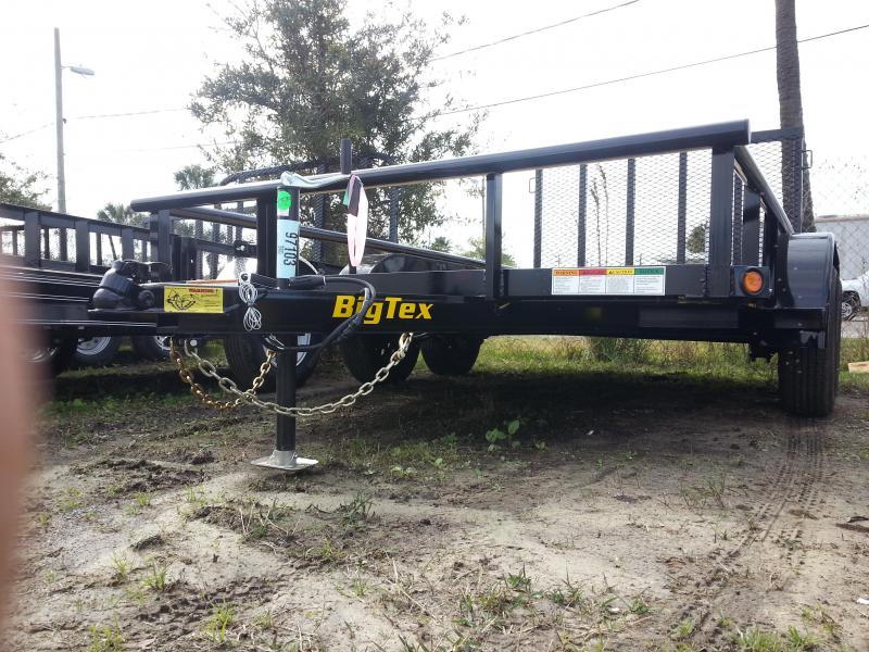 Big Tex Trailers 60PI-12 Pipe Top Utility TrailerTandem Axle