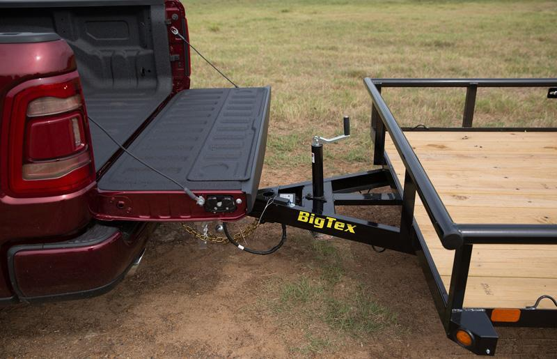 "Big Tex 77""x12' Utility Trailer Open Utility Lawncare"