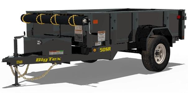 Big Tex Trailers 50SR-8-5W Dump Trailer