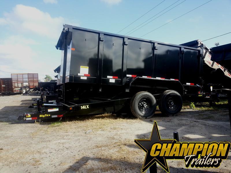 2019 Big Tex Trailers 14LX-14BK-P4 Dump Trailer