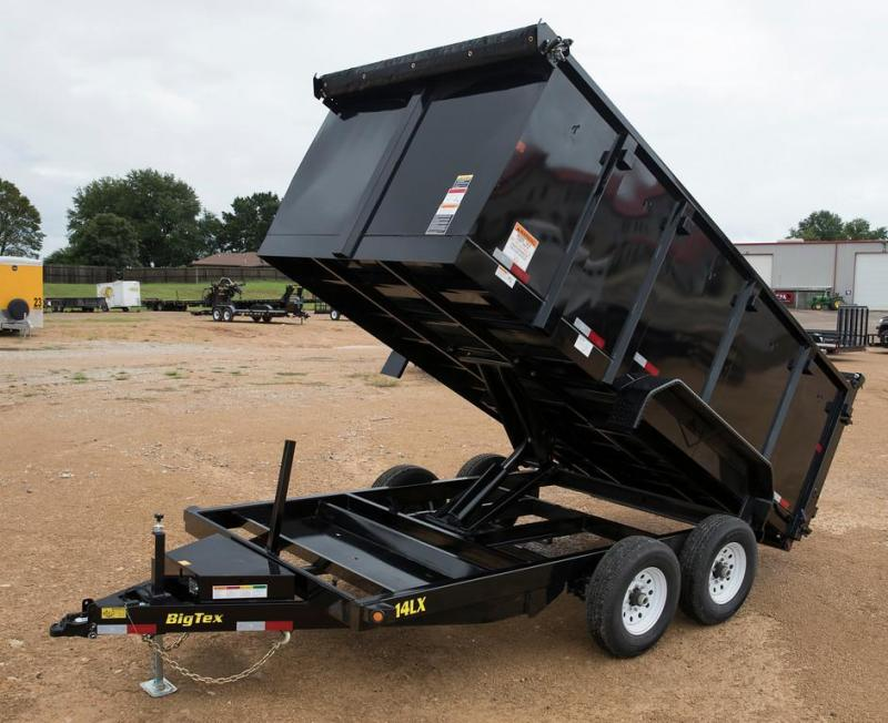 Big Tex 7 x 14 Dump Trailer with 4' Sides