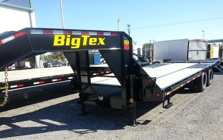 Big Tex 22GN 20'+5' Gooseneck Tandem Dual Equipment Hauler Trailer 30' Gooseneck Trailer