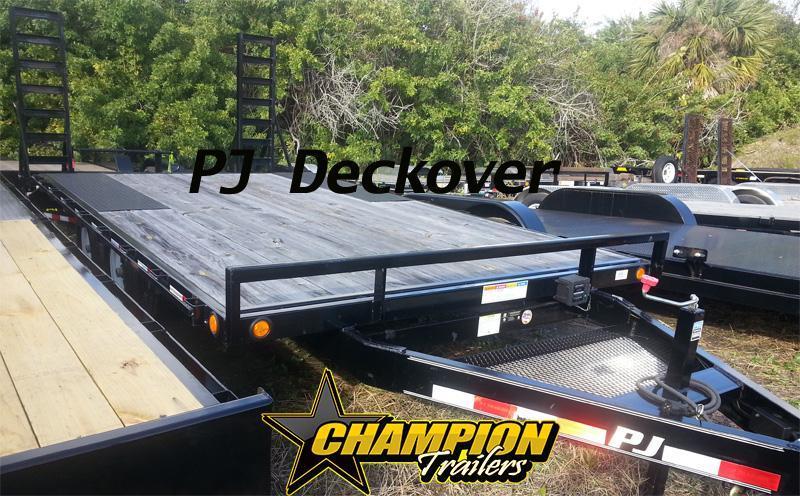 102 x 16' Deckover L6 PJ Trailer