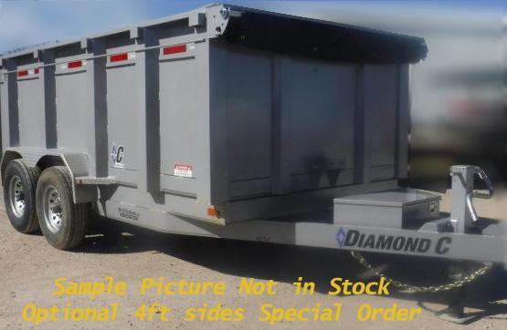 Diamond C Trailers 21WD Dump Trailer