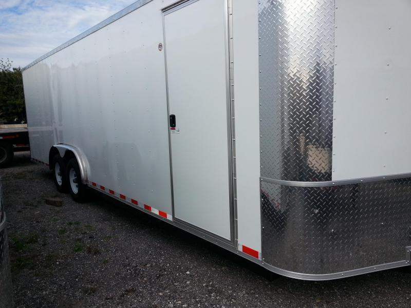 2019 Arising 8.5x20x6'6 5.2k Axle Enclosed Cargo Trailer