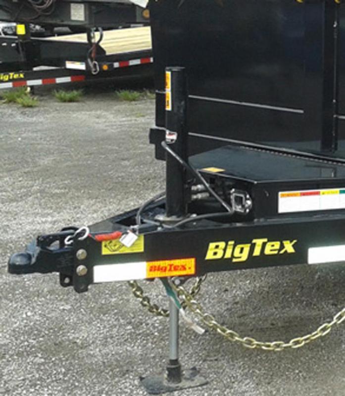 Big Tex Trailers 14LX-14BK-HJ Dump Trailer with Ramps
