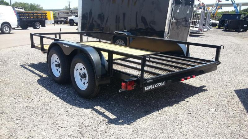 2019 Triple Crown Trailers 64x12 Utility Trailer