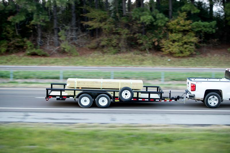 Big Tex 10PI 16' Utility Landscape Equipment Trailer with Heavy Duty 4' Integrated Ramp