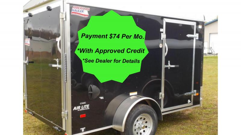 American Hauler Industries 2019 Air Lite 6x10 Enclosed Cargo Trailer