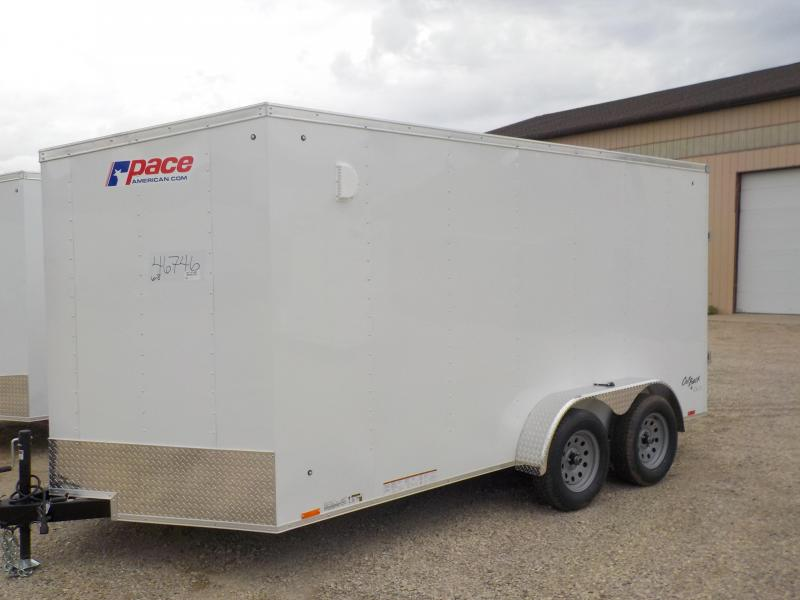 2018 Pace American Outback Cargo Dlx Cargo / Enclosed Trailer & All Inventory | Buy Enclosed Cargo Trailers at Clarklake Trailer ...