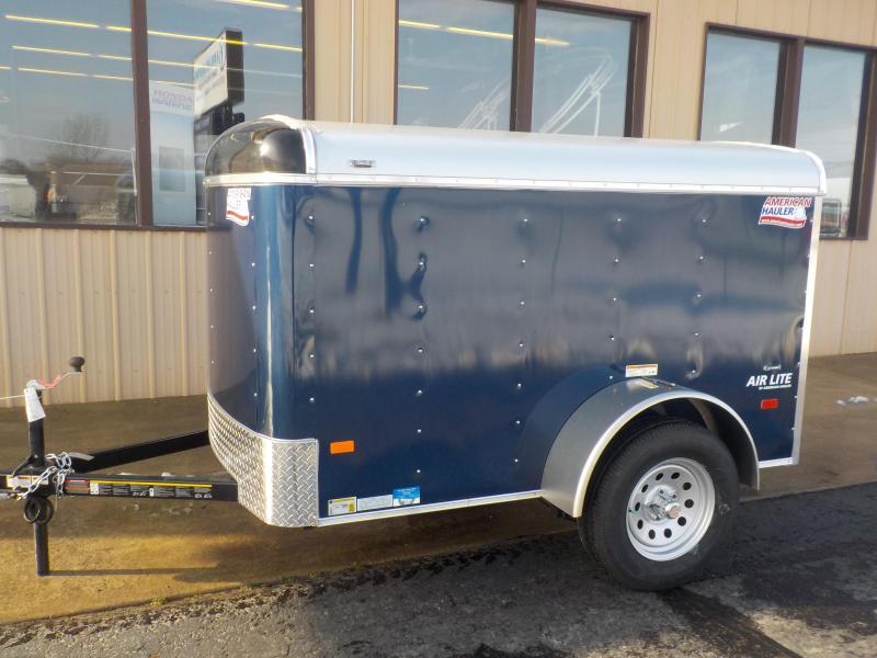2019 american hauler industries air lite 5x8 enclosed cargo trailer