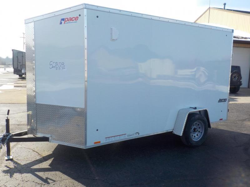 2020 Pace American Journey SE 6x12 Cargo Enclosed Cargo Trailer
