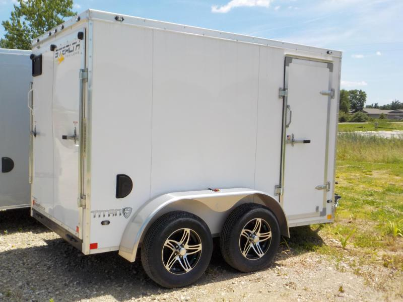 2019 Stealth Trailers Titan Series 6x10 Enclosed Cargo Trailer