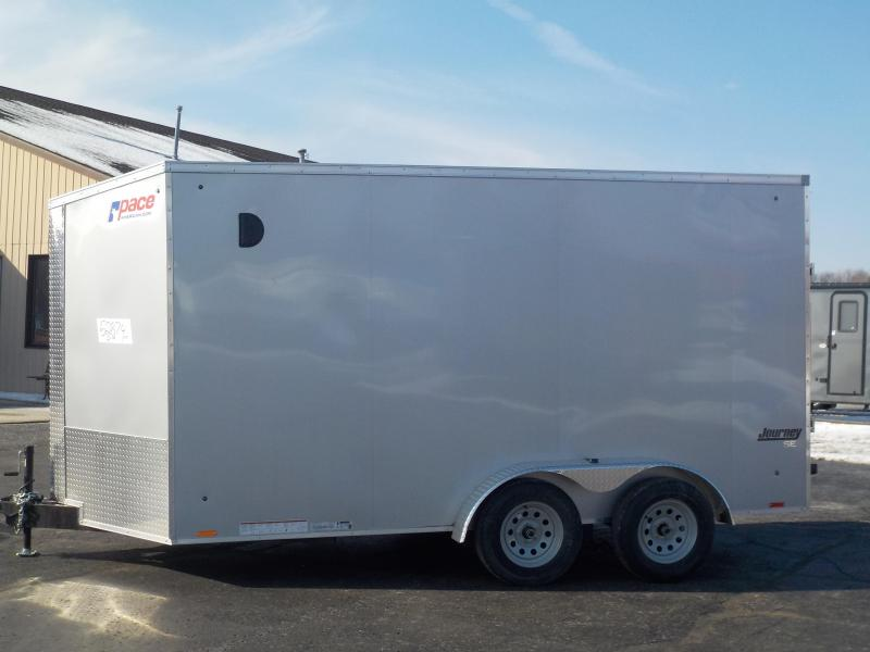 2020 Pace American Journey SE 7x14 Cargo Enclosed Cargo Trailer