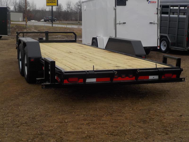 2018 cornpro trailers ut-20 h utility trailer
