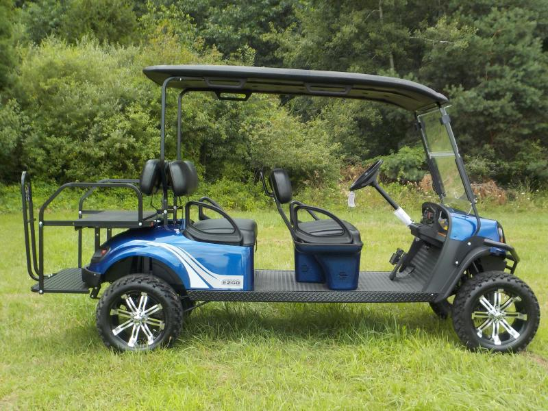 2019 E-Z-GO Express L6 G-EFI Six Person Golf Cart