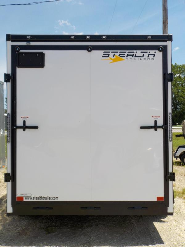 2020 Stealth Trailers Titan 7X14 Enclosed Cargo Trailer