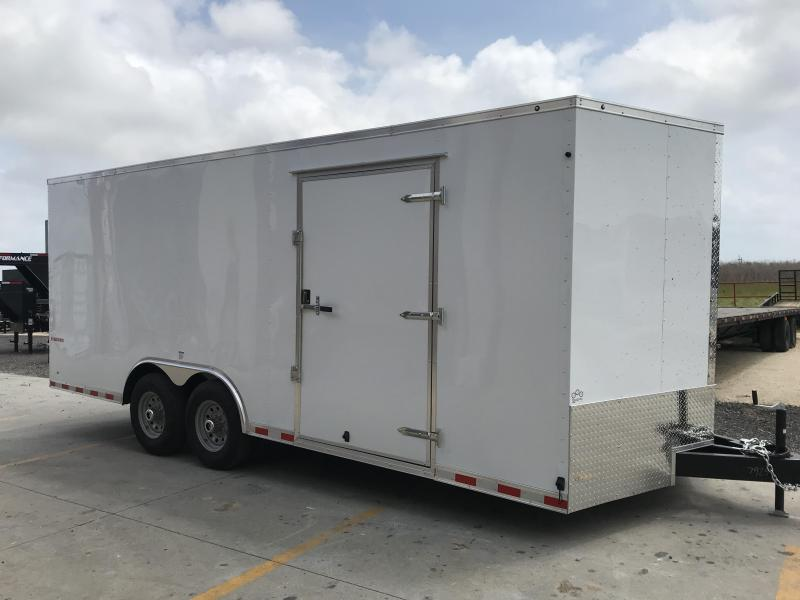 2018 Cargo Mate TXEHW8.520TA4 Enclosed Cargo Trailer