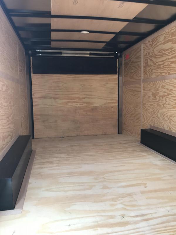 2018 Cargo Mate TXEHW8.520TA4 Enclosed Cargo Trailer